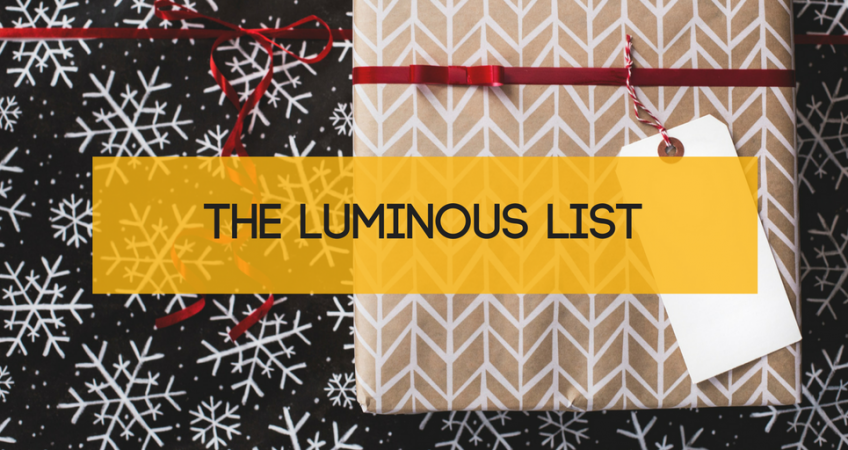 The Luminous List | December 2017