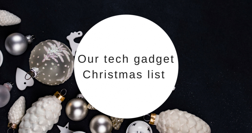 the Luminous PR tech gadget Christmas list