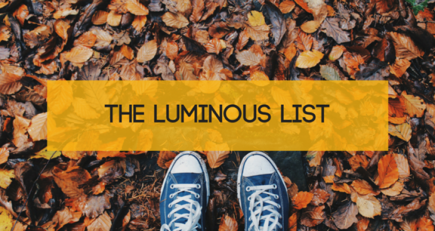 The Luminous List | Tech, Gadgets, Media