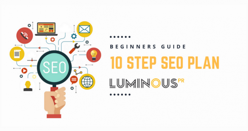 Our 10 step plan to SEO for beginners