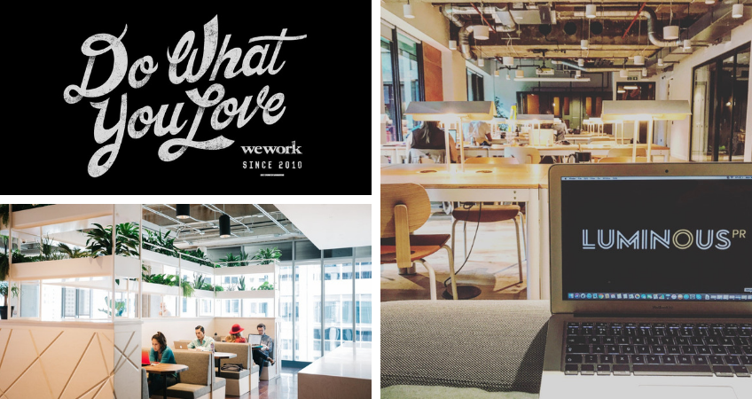 WeWork at 8 Devonshire Square, London