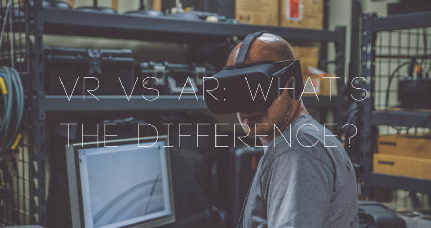 aa14528ea02 Virtual reality vs augmented reality  what s the difference between VR and  AR