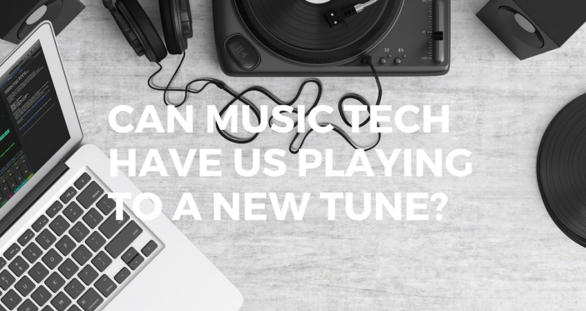 Can musictech have us playing to a new tune?